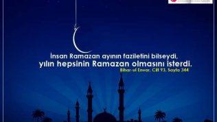 Ramazan Ayı İle İlgili Hadisler