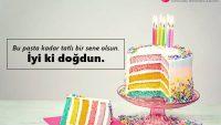 Doğum Günü Pastasına Yazılacak Sözler
