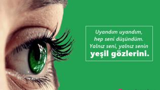 Yeşil Göz İle İlgili Sözler