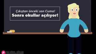 Okulların Açılması İle İlgili Komik Sözler